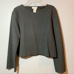 Women's Extra Small Long Sleeve Crop Top